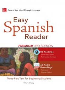 کتاب مجموعه داستان کوتاه اسپانیایی Easy Spanish Reader
